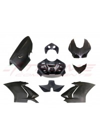 CARENA COMPLETA + CODONE + COVER AIRBOX + TUBI AIRBOX EPOTEX PER DUCATI PANIGALE V4 V4S 2018 2019 EXTREME COMPONENTS
